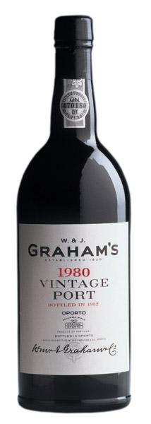Grahams, Vintage Port, 1980 - The